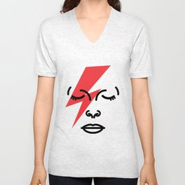 Bye Ziggy Stardust Unisex V-Neck