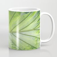 palm Mugs featuring Palm by ALLY COXON