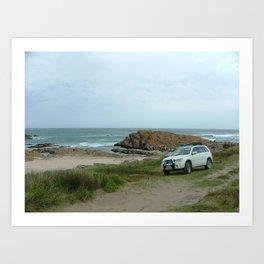 Suzuki Tasmania Wilderness Art Print