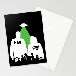 An X-File Stationery Cards