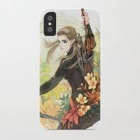 legolas iPhone & iPod Cases featuring Legolas by kagalin