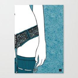 La femme 22 Canvas Print