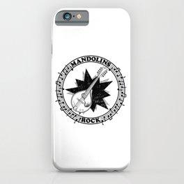 Mandolins Rock iPhone Case
