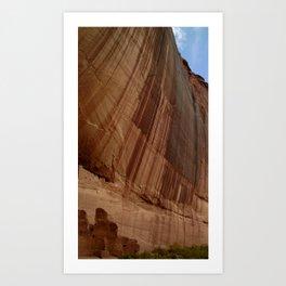 Canyon de Chelly - White House  Art Print