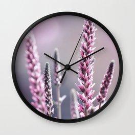Summer flowers 300 Wall Clock