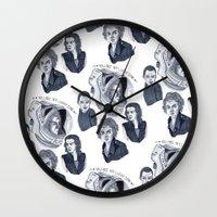 ripley Wall Clocks featuring Ripley by scoobtoobins