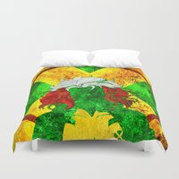 rogue Duvet Covers featuring Rogue by Some_Designs