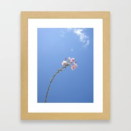 One of the Most Beautiful Things In This World Framed Art Print