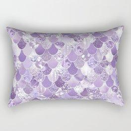 Mermaid Treasure, Purple Jewels Rectangular Pillow