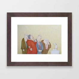 The Art Adjudicating Committee Framed Art Print