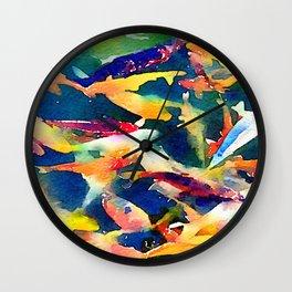 Pretty koi Wall Clock