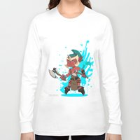 dota Long Sleeve T-shirts featuring Troll Warlord by Angxix