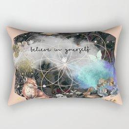 Believe in Yourself 3 Rectangular Pillow