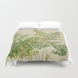 Maidenhair Ferns Duvet Cover