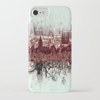 new york iPhone & iPod Cases featuring New York New York by Bekim ART
