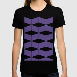 Zigzag Geometric - Violet T-shirt