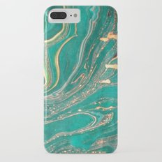 Ocean Gold iPhone 7 Plus Slim Case