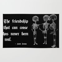 friendship Area & Throw Rugs featuring Friendship by GLR67