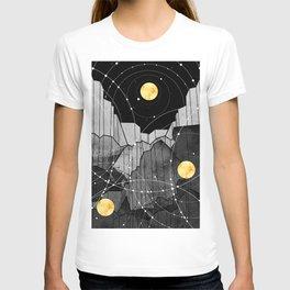 Astronomy mountains T-shirt