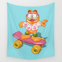 Garfield 1988 Happy Meal Toy Wall Tapestry