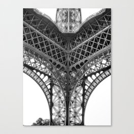 Paris [Sky cut N°18] France Canvas Print