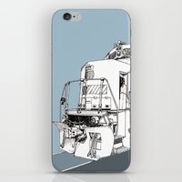 train iPhone & iPod Skins featuring Train  by Phillip Kauffman