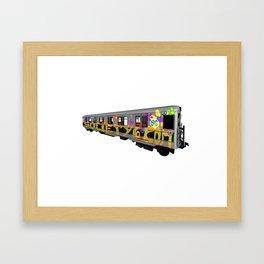 subway art Framed Art Print