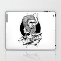 THE MAN AND THE SEA Laptop & iPad Skin