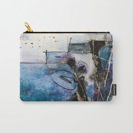 Midnight Sky, Acrylic artwork Carry-All Pouch