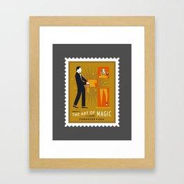 The Art of Magic - The Zig-Zag Lady Framed Art Print