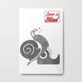 Love is bind Metal Print