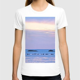 Flock and the Rocks T-shirt