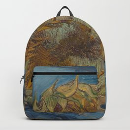 Vincent van Gogh - Sunflowers Backpack