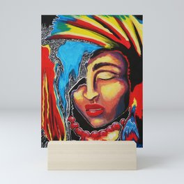 Acid Jazzy Blues Mini Art Print
