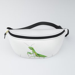 Mantis. Watecolor Fanny Pack