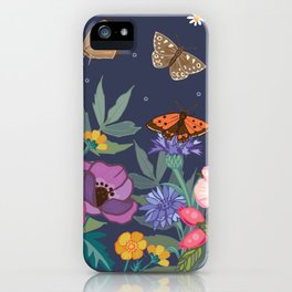 Anemones & Cornflowers iPhone Case