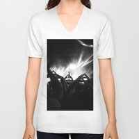 30 seconds to mars V-neck T-shirts featuring 30 Seconds to Mars by My own little world