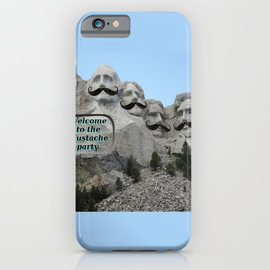 Mount Mustache iPhone & iPod Case