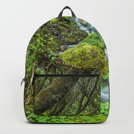 Deep in the green forest II Backpack