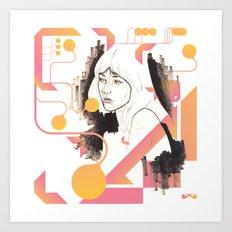 Noir Series 001. Art Print