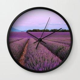 Perfect Provence Wall Clock