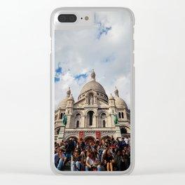 Sacre Coeur Paris Clear iPhone Case