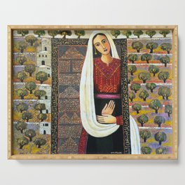 Vision by Nabil Anani Serving Tray