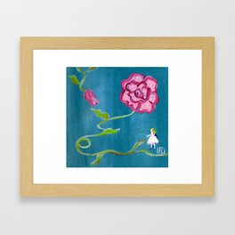 2011 Why so small? Framed Art Print