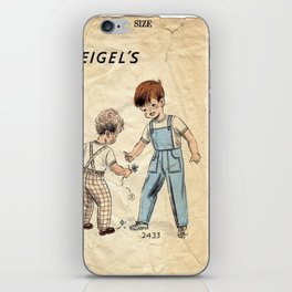 Childrens Little Boys Play	 iPhone Skin