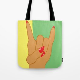 Let's Rock Today Tote Bag