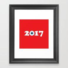 2017 Framed Art Print