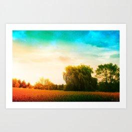Waking Willow Art Print