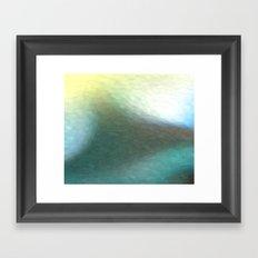 Deep Water Abstract Framed Art Print