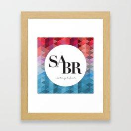 SABR Framed Art Print